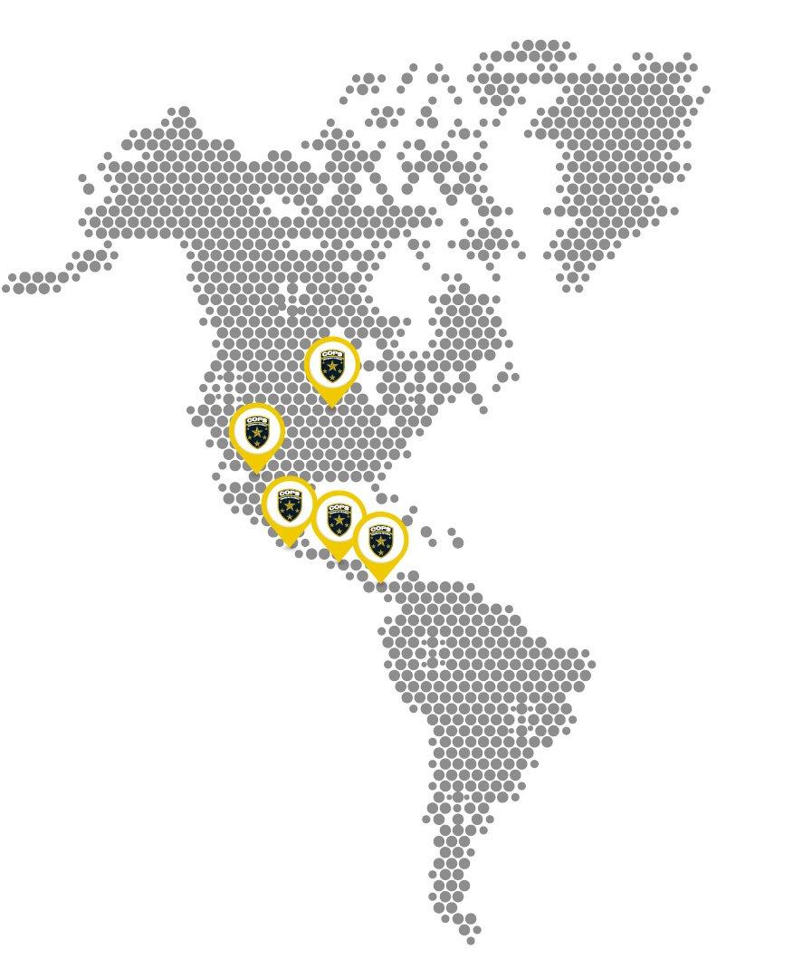 Sucursales-Internacionales-Cops-Panama-empresa de seguridad